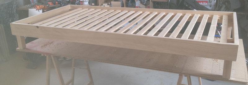 Menuiserie gilles le guen saint thonan fabrications - Construire un lit mezzanine ...